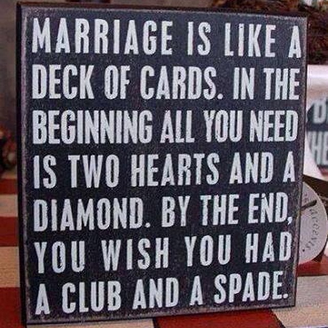 #marriage #saying #signs #habal