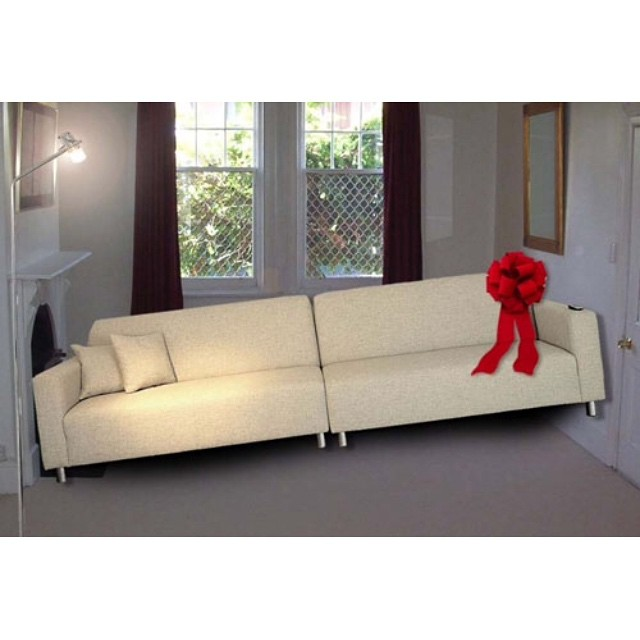 Doesn't quite fit #surprise #gift #sofa #furniture #fail #HabaLdotCom #هبل_دوت_كوم