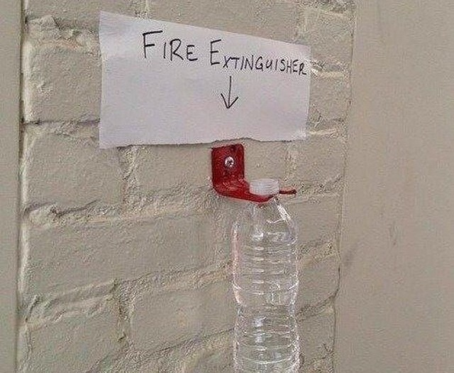 #fire #extinguisher #habal