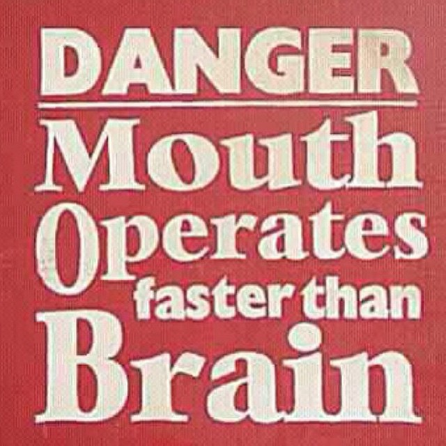#signs #danger #mouth #brain #habal