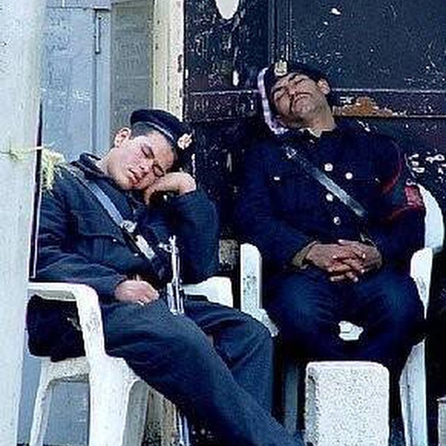 #onduty #security #fail #asleep #HabaLdotCom #هبل_دوت_كوم