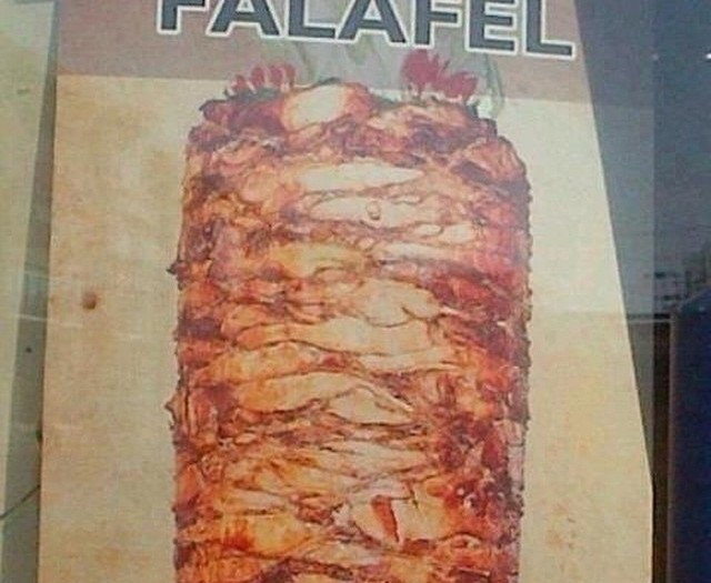 #falafel #shawarma #false #advertising #food #habal