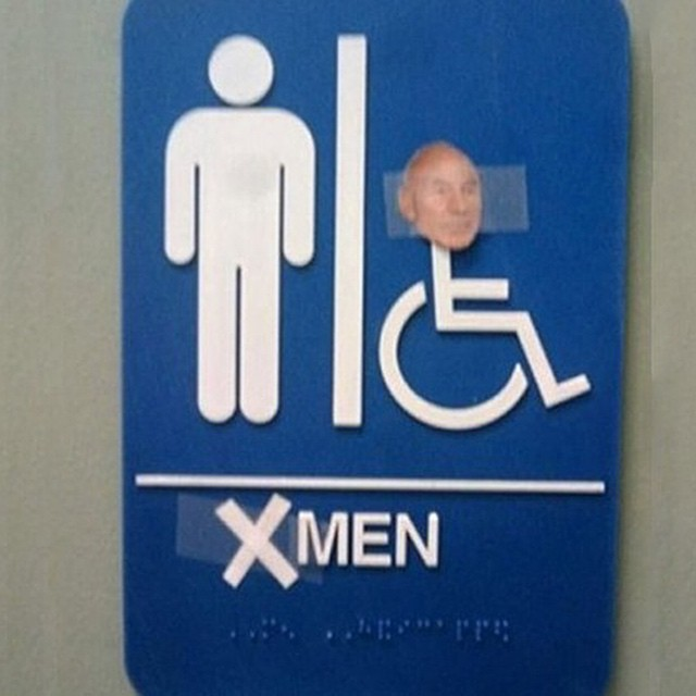 #xmen #toilet #signs #habal