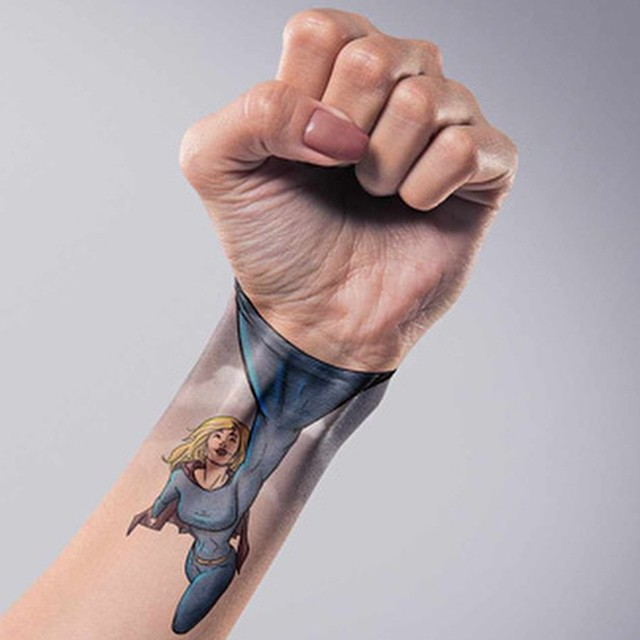 #superhero #fist #tattoo #win #habal
