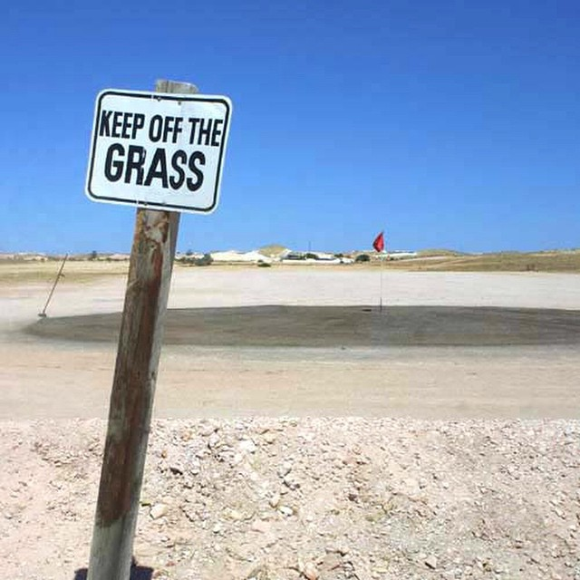 What grass? #signs #fail #climatechange #habal #هبل #HabaLdotCom #هبل_دوت_كوم