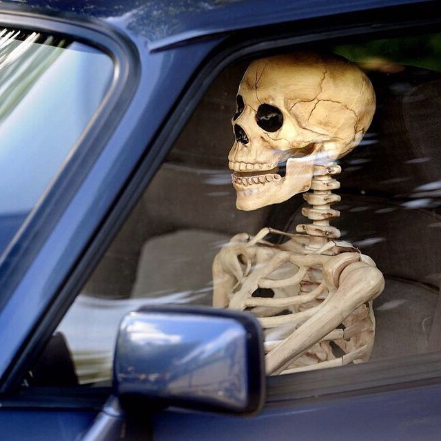 #endless #traffic #jams #2014 #skeletons #cars #wait #forever #habal #هبل #HabaLdotCom #هبل_دوت_كوم