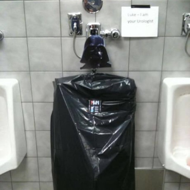 #darthvader #starwars #urinal #habal #هبل #HabaLdotCom #هبل_دوت_كوم