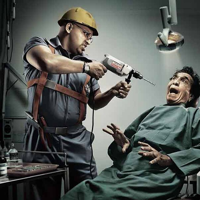 #dentist from #hell #ad #win #habal #هبل #HabaLdotCom #هبل_دوت_كوم