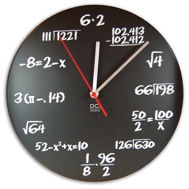 #clock from #hell #math #habal #هبل #HabaLdotCom #هبل_دوت_كوم