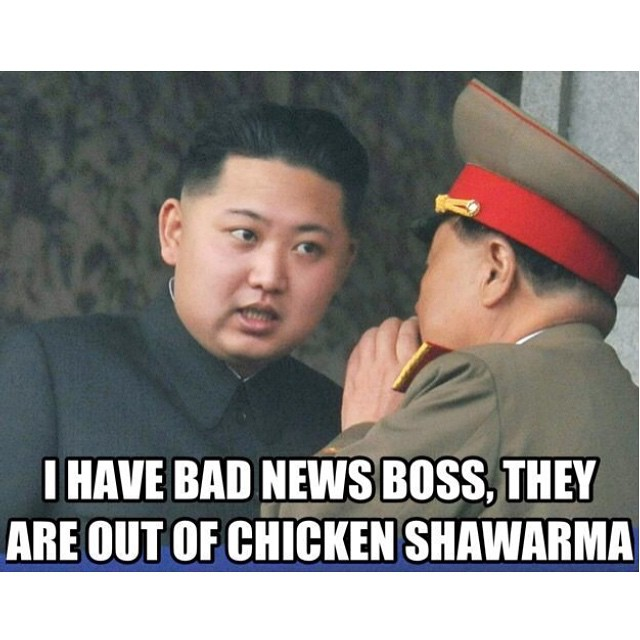 #badnews #no #chicken #shawarma  #northkorea #habal #هبل #HabaLdotCom #هبل_دوت_كوم