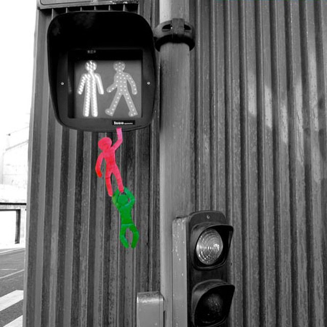 #escape of the #trafficlights #people #habal #هبل #HabaLdotCom #هبل_دوت_كوم