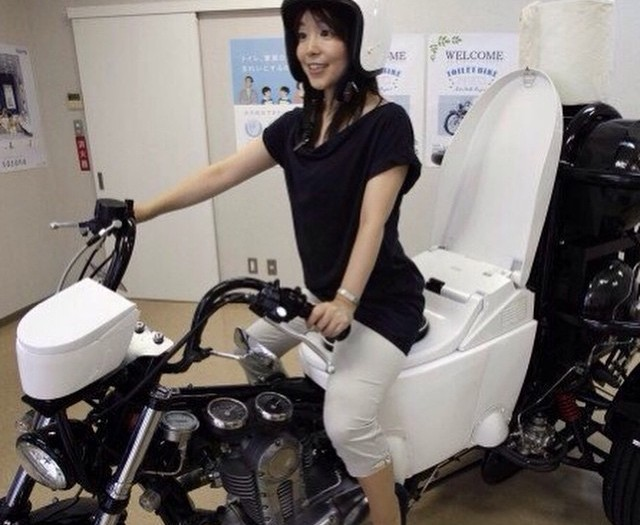 #toilet #motorbike #japan #habal #هبل #HabaLdotCom #هبل_دوت_كوم