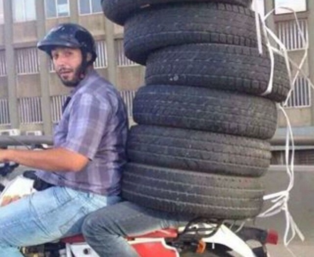#wheels #on #wheels #traffic #fail #habal #هبل #HabaLdotCom #هبل_دوت_كوم