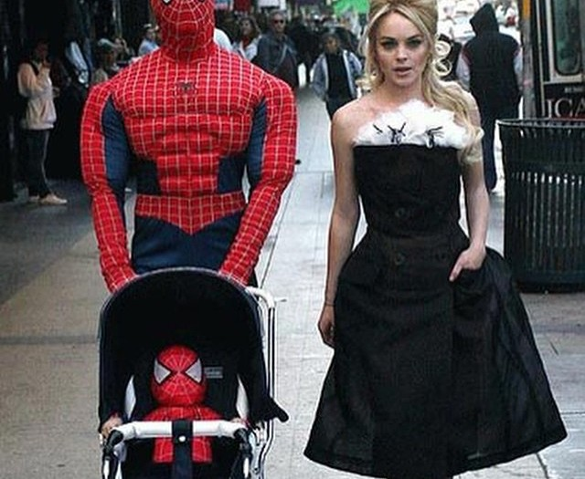#modern #family #spiderman #spiderbaby #habal #هبل #HabaLdotCom #هبل_دوت_كوم