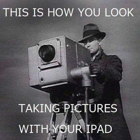 #stop using #iPad for taking #pictures & #videos #habal #هبل #habaldotcom