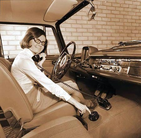 #waybackwhen it was #cool and #legal to use a #phone in the #car