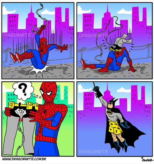 #forget #batmanvsuperman this is #batman versus #spidey