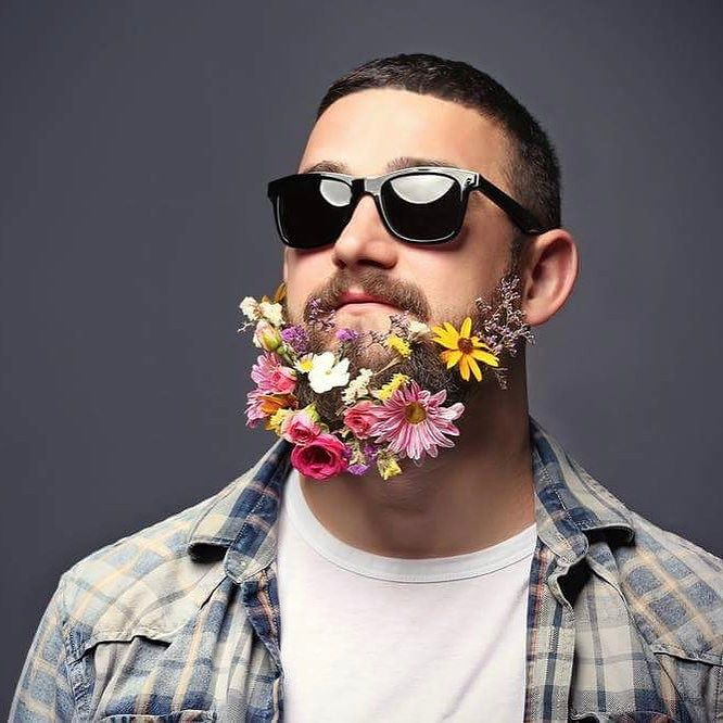 #flowerinyourhair #not #beard #deuh #habal #هبل #habaldotcom
