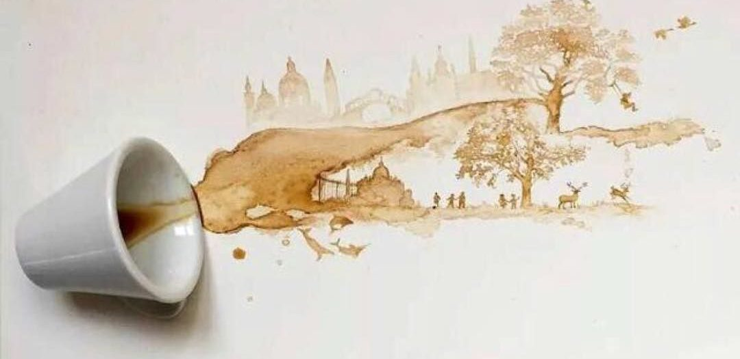 #coffee #spill #win #art #habal #هبل #habaldotcom