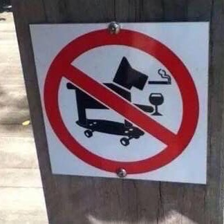 #notallowed #skateboardingsmokingdrinkingdog #pet #habal #هبل #habaldotcom